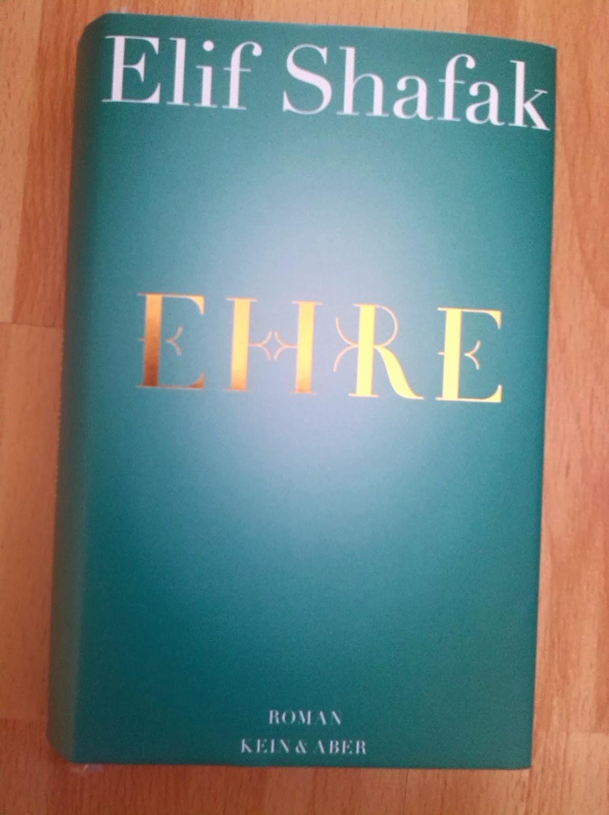 [Buch] Ehre von Elif Shafak   Produktplatzierung