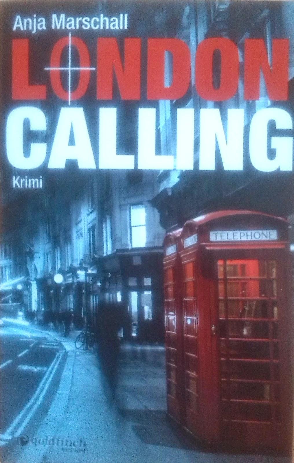 [Buch] London Calling von Anja Marschall   Produktplatzierung