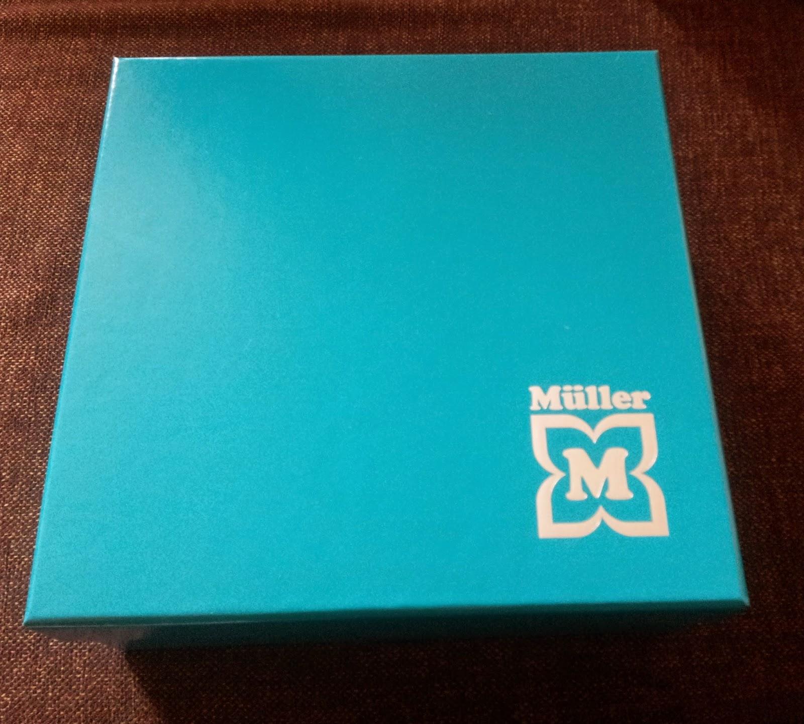 Müller Look-Box im September  | Produktplatzierung