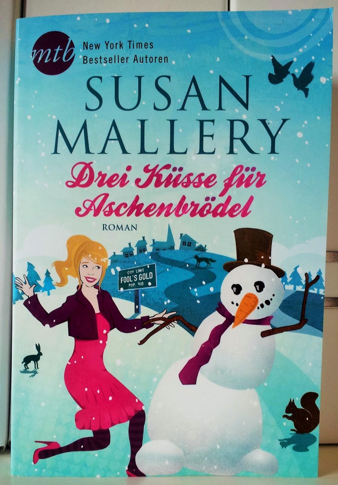 [Blogparade] Drei Küsse für Aschenbrödel von Susan Mallery | Produktplatzierung