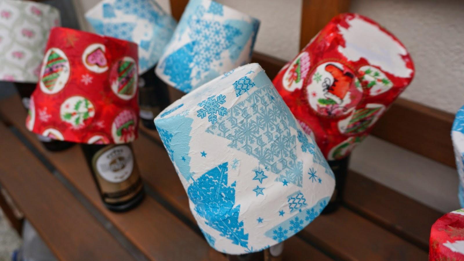 [DIY] Weihnachtliche Blumentöpfe ~ mit Serviettentechnik ganz einfach selbst gemacht