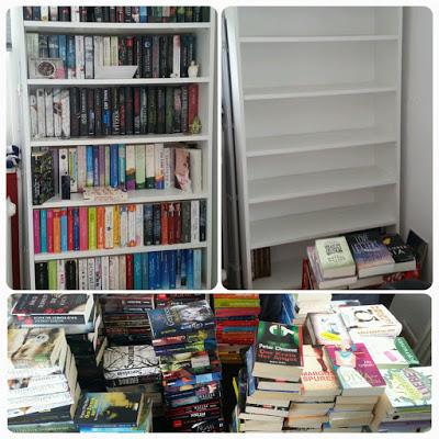 Mein SuB, mein Bücherregal & ich