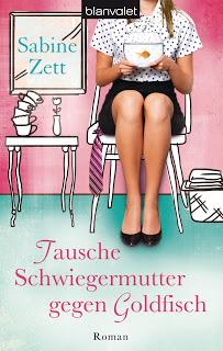 [Rezension] Tausche Schwiegermutter gegen Goldfisch von Sabine Zett | Produktplatzierung