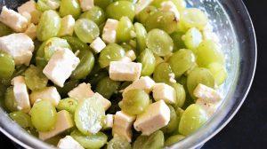 [schnell & einfach] Weintrauben-Salat mit Fetakäse