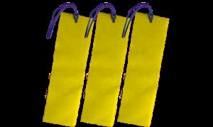 drei Lesezeichen