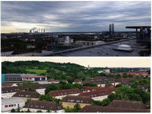 Mit der Digiline durch Wolfsburg