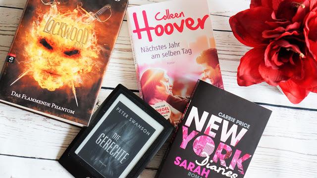 Bisherige Lieblingsbücher in 2017