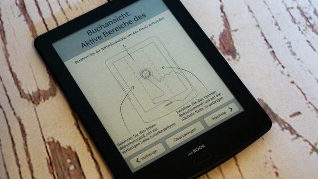 inkBook Prime eReader_Bedienung