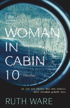 Cover woman in cabin 10 Ruth Ware