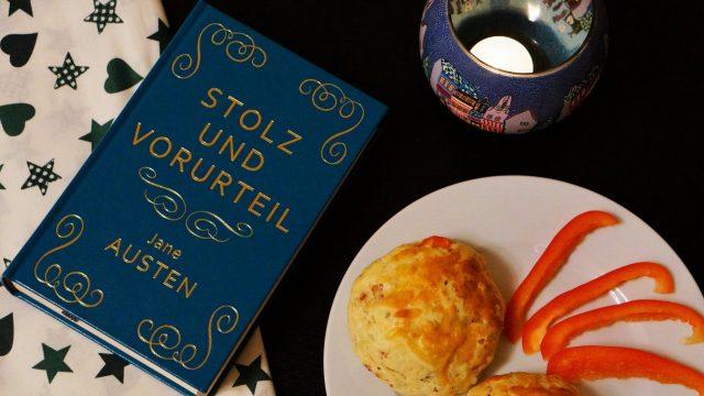 Jane Austen Stolz und Vorurteil Pizza Scones