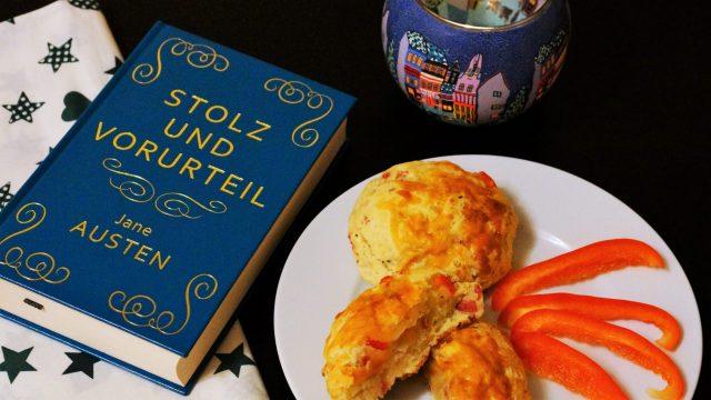 Pizza Scones Stolz und Vorurteil Jane Austen