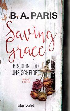 [Rezension] Saving Grace von B.A. Paris   Produktplatzierung