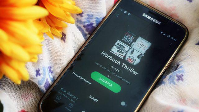 Thriller auf Spotify