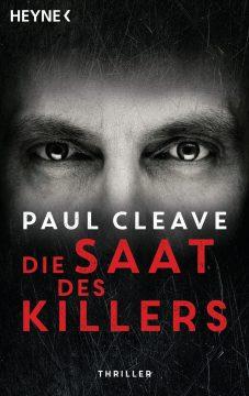 Cover Die Saar des Killers Paul Cleave