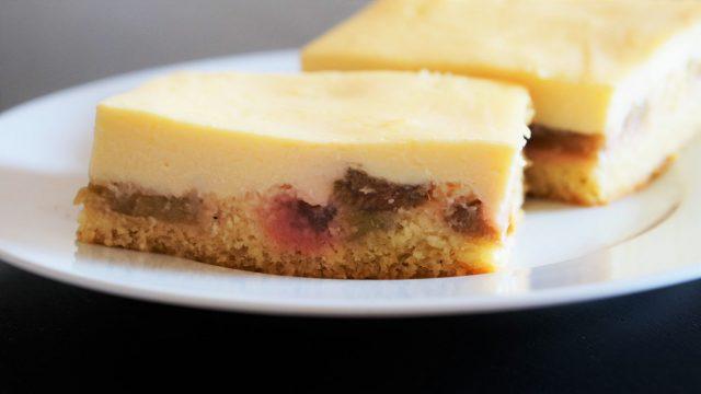 leckerer Rhabarberkuchen