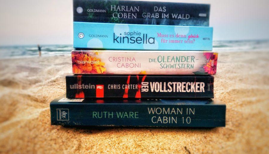 Lesemonat Juli 2018 Sommerbücher