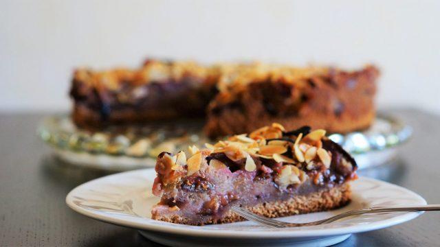 Schokoladen-Pflaumen-Kuchen lecker und einfach