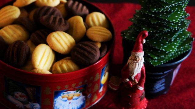 Puddingplätzchen mit Schoko und Vanille